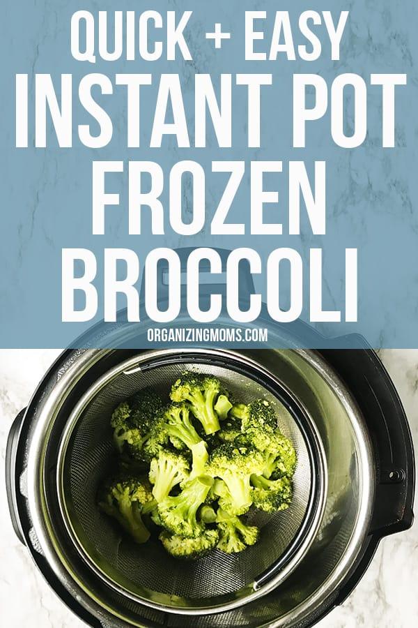 easy instant pot frozen broccoli