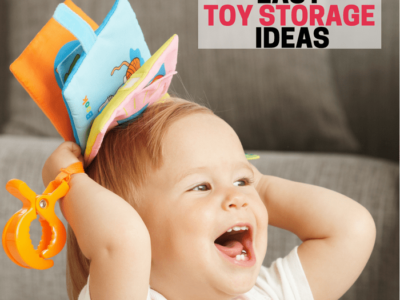 Toy storage ideas that will help you get organized. Find a home for toys so you never have to wonder where to store things again. Huge list of ideas!