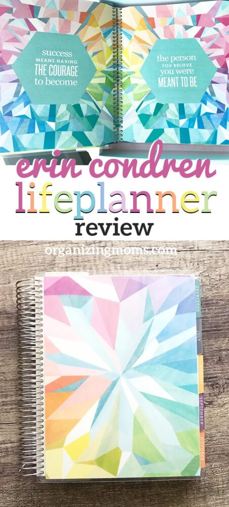 review of the erin condren life planner