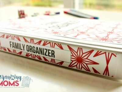 Family Organizer by Organizing Moms