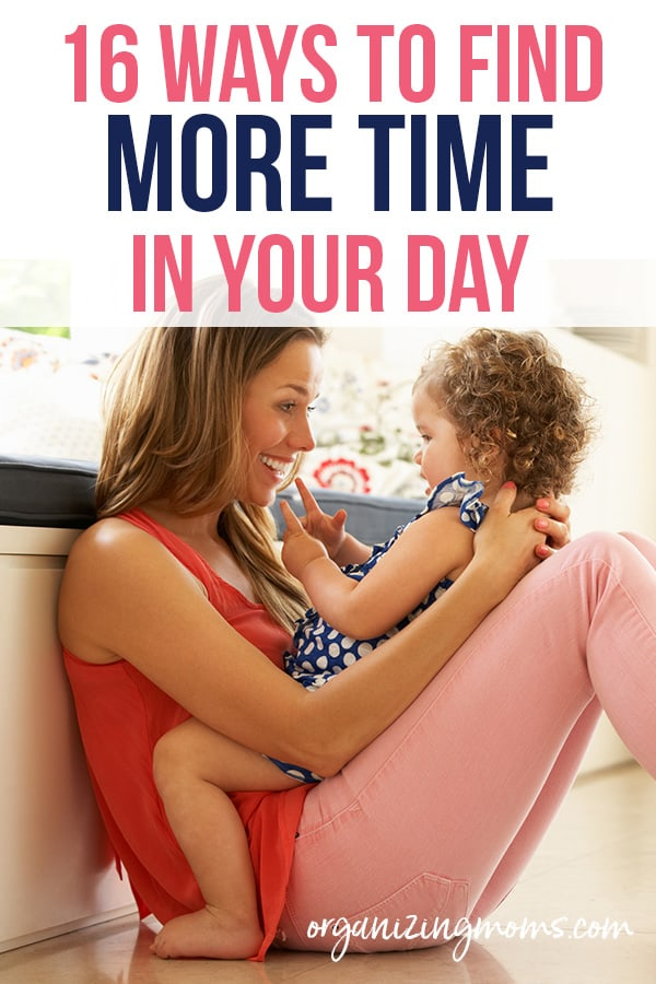 find more time in your day