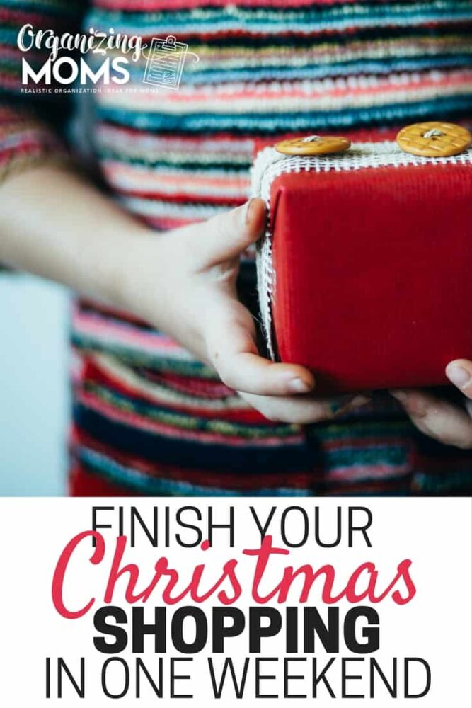 Get your Christmas shopping done in a weekend so you can enjoy the season.