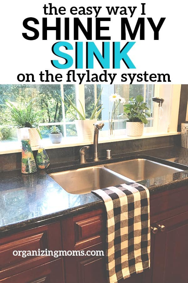 flylady shine your sink