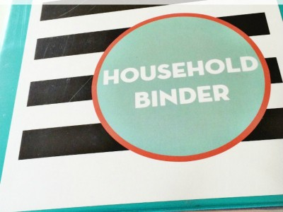 Free Printable Binder Covers. Download and use to organize your own paperwork!