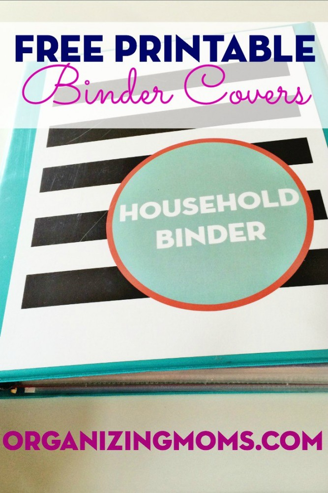 Unusual image within free printable binder covers
