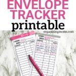 free cashless envelope tracker printable
