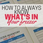 How to Organize a Deep Freezer