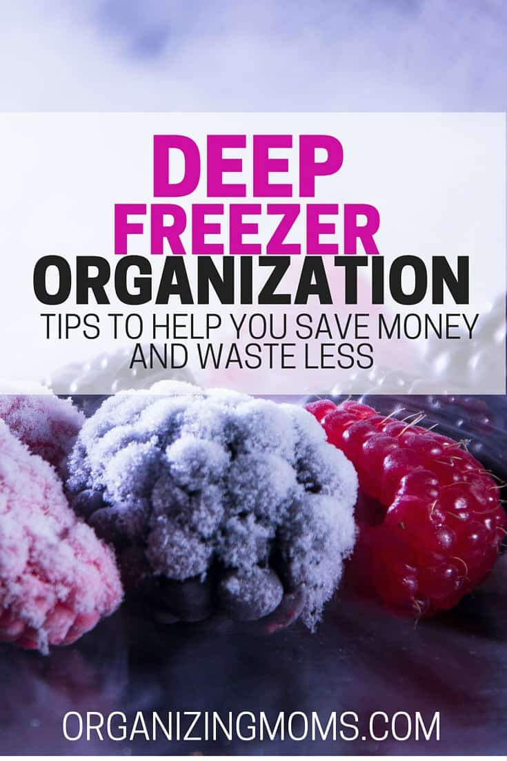 Deep freezer organization - step-by-step instructions that will help you clean our your deep freeze, get it organized, and save money on food.