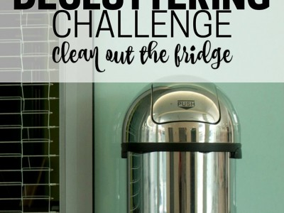 Declutter your fridge and see a whole new world of culinary possibilities. Part of the Get Rid of It! Decluttering Challenge.