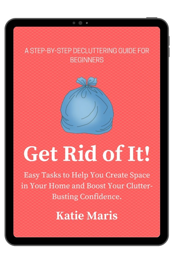Close up of cover for Get Rid of It! ebook