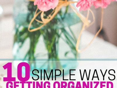 Want to save money? Get organized! 10 simple ways getting organized will save you money.