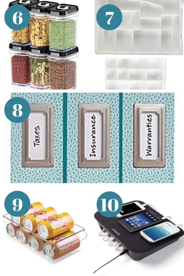 Gift ideas for super organized moms.