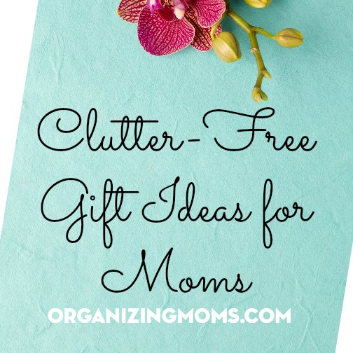 Great gift ideas for moms.