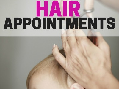 Schedule Hair Appointments - Organizing Moms