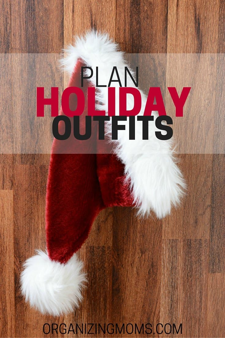 What will you wear during the holiday season? Plan your holiday outfits now to avoid the scramble for something cute to wear!