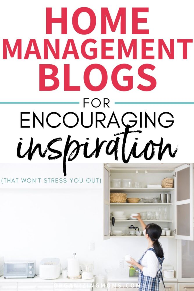 home management blogs for encouraging inspiration