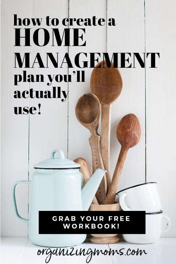 home management plan