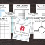 home management printables