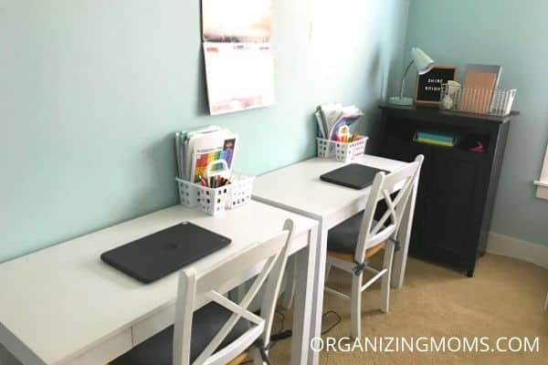 homeschool room desks
