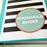 Save time and energy by making your own simple household binder.