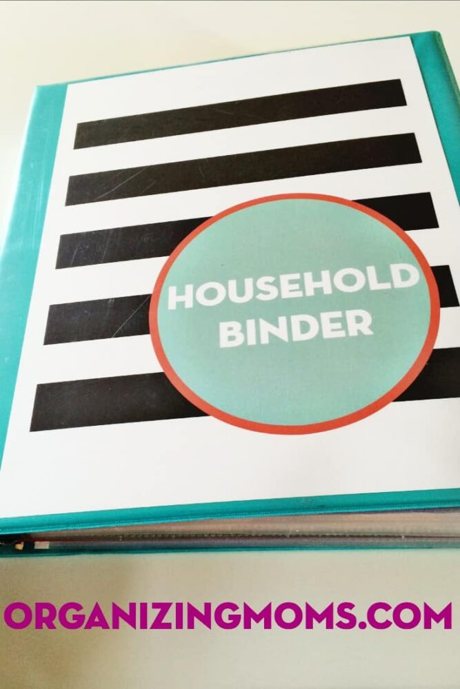 make a simple household binder