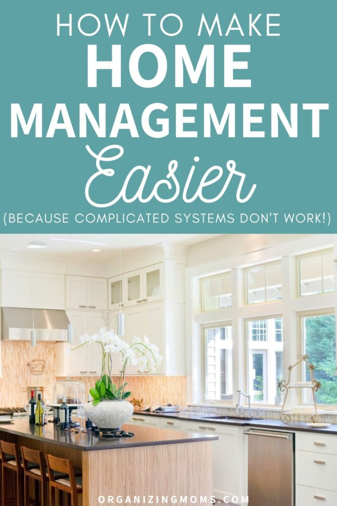 how to make home management easier