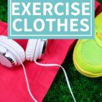 how to organize exercise clothes organizingmoms