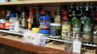 How to Organize Your Spice Cabinet with Dollar General