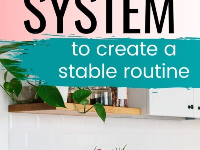how to use the flylady system flowers in kitchen
