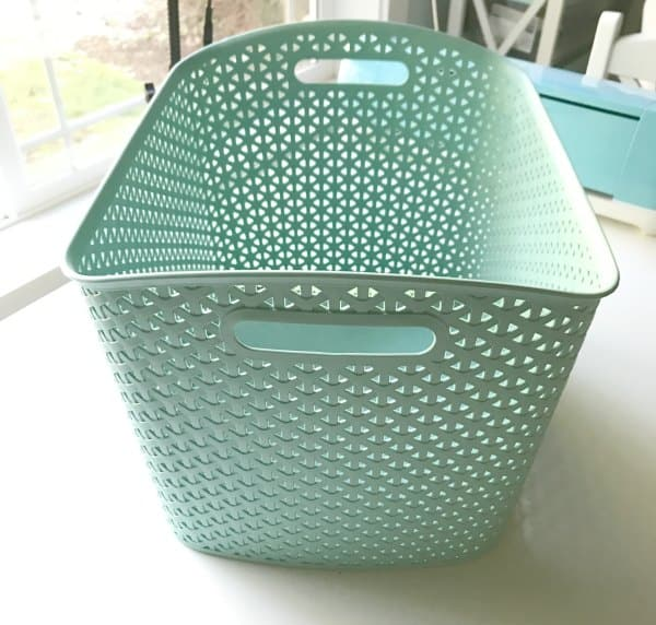 cheap storage basket from target yweave