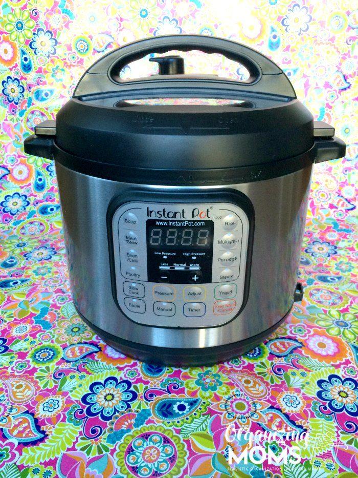 Instant Pot. Multi-tasking kitchen wonder!