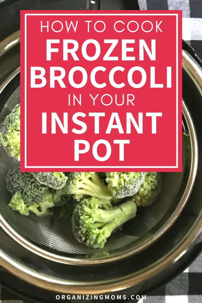 instant pot frozen broccoli