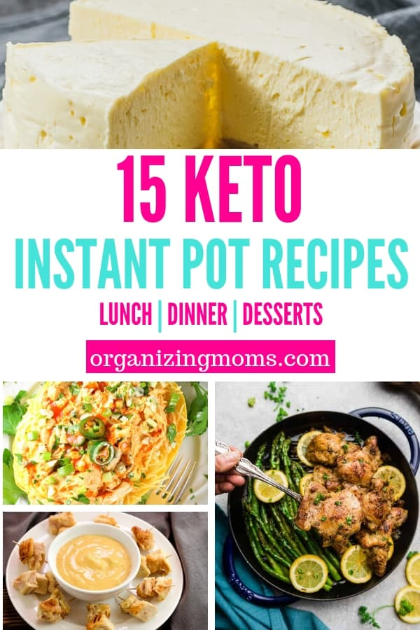Make your Keto diet meal plan even more delicious with incredible Keto-friendly Instant Pot recipes. Use your pressure cooker to help your goal weight!