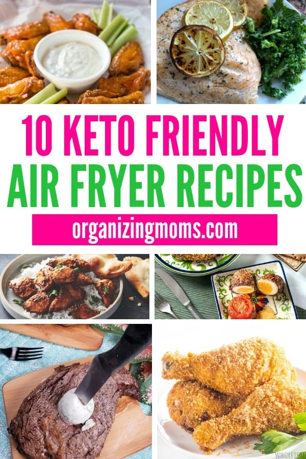 Keto Air Fryer recipes you'll love! Bring great flavors and variety into your keto diet with these mouth-watering recipes.