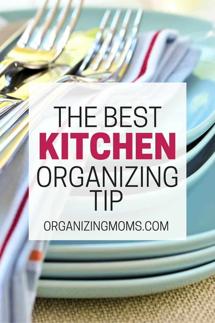 This habit helped me get my kitchen under control. One of the best, simplest, kitchen organization tips I've ever heard.