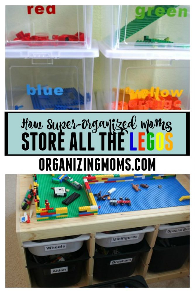 Lego Organization Ideas - Organizing Moms