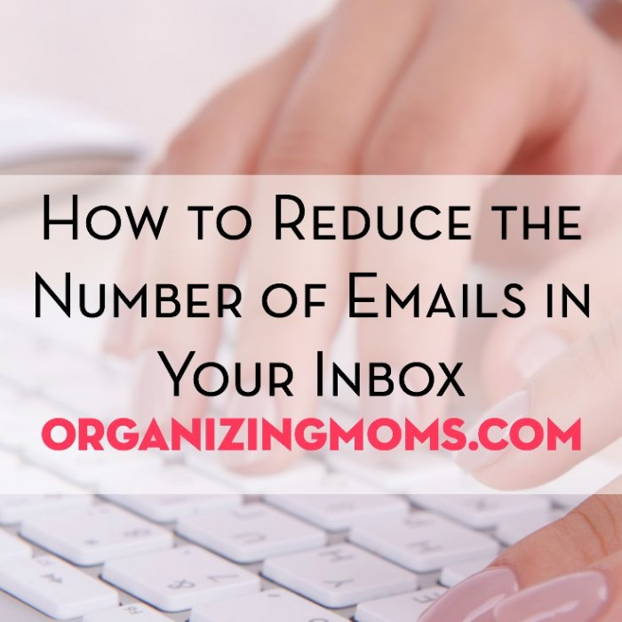 This post gives seven steps you can take to greatly reduce the number of emails in your inbox.