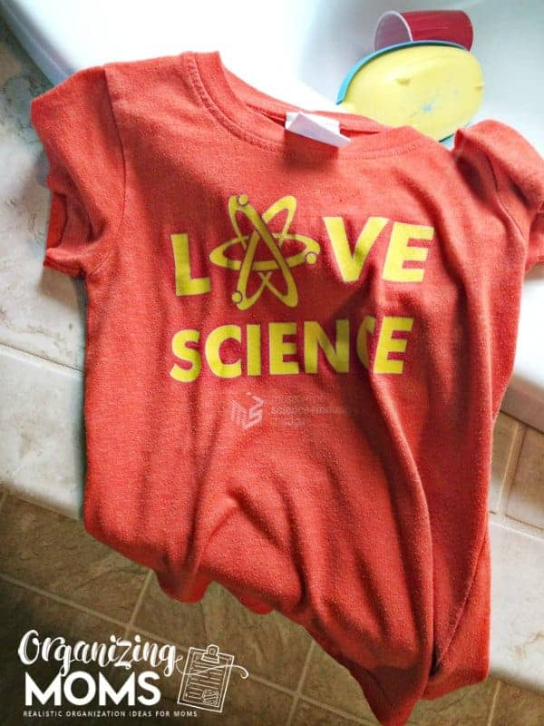 Cutest shirt in the history of all history. Love science.