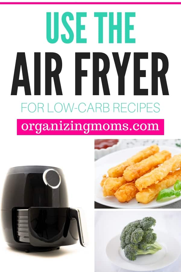 Use The Air Fryer For Low Carb Recipes Organizing Moms