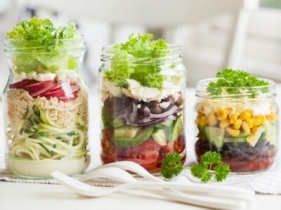 make ahead mason jar salads