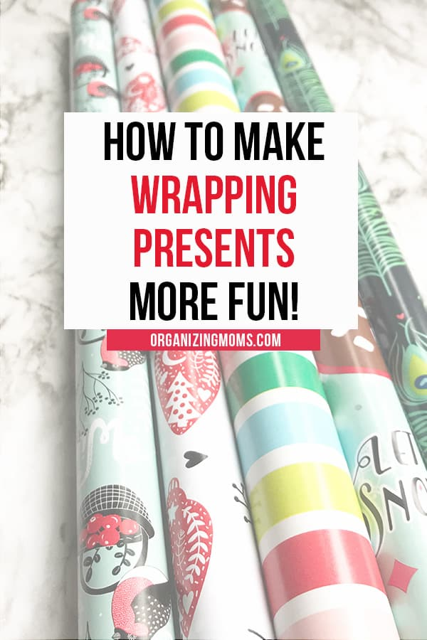 make wrapping presents more fun