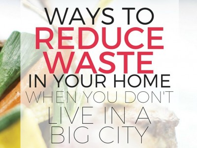 Reduce waste in your home using the resources available in your own town. Many zero waste home tips are written by people who live in big cities. Here are tips that might work for any locale. Ways to reduce waste, save money, and help the environment.
