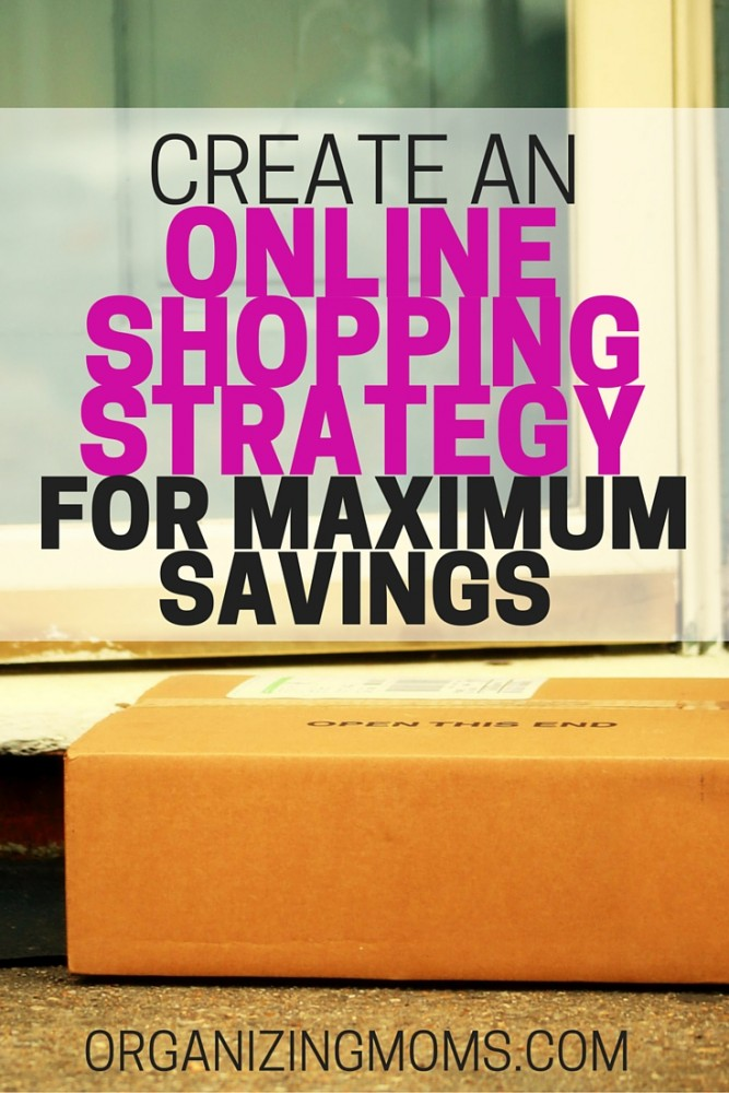 Organize an online shopping strategy to help you save more. Great money saving tips, tricks, and advice for saving while shopping online. Ways to save, get free shipping, and earn cash back.