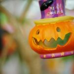 organize halloween decorations