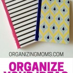 Organize your ideas with notebooks. If you remember things more when you take the time to write down your ideas, this is the article for you!