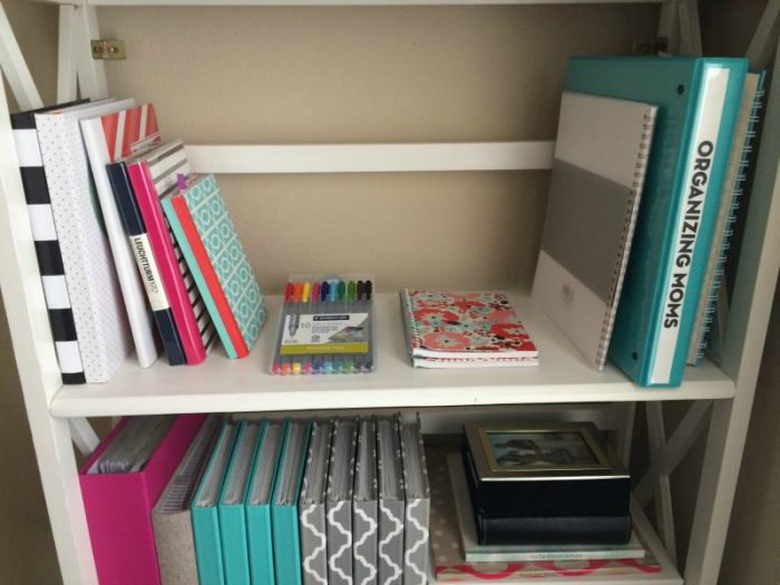 Tips And Tricks For Organizing Your Office Using Stuff You Already Have.  Create Your Own