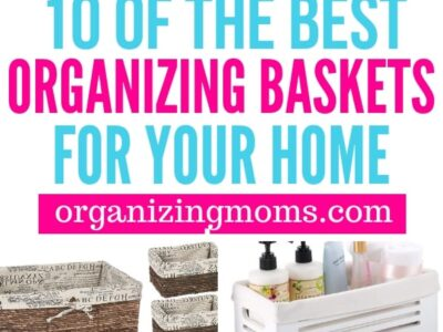 rganizing with baskets is simple and fun.