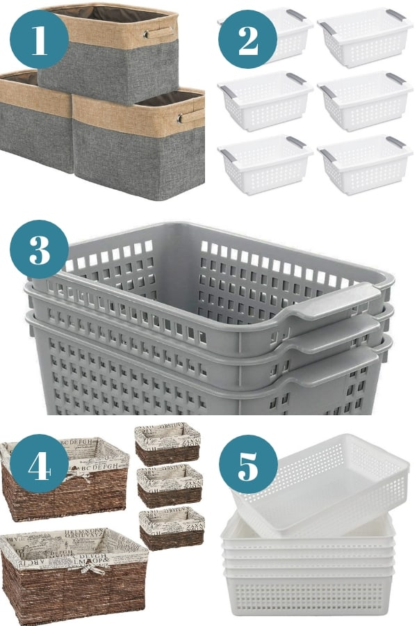 Organizing Baskets for the Home