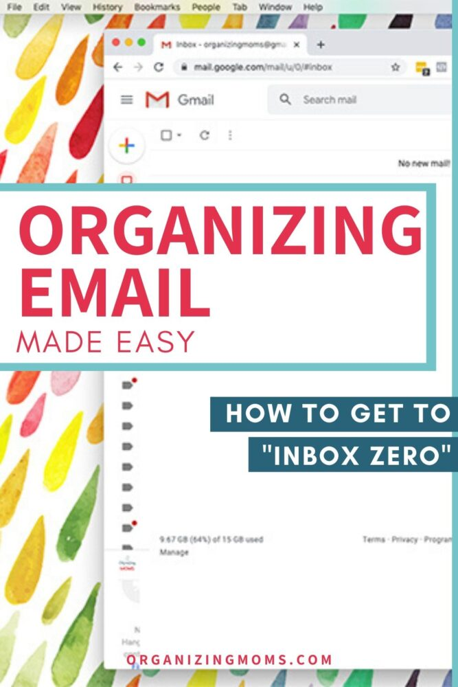 organizing emails made easy