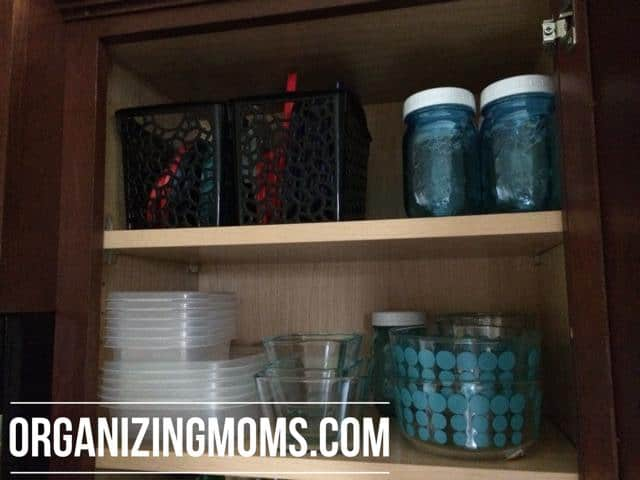 food storage containers organized!